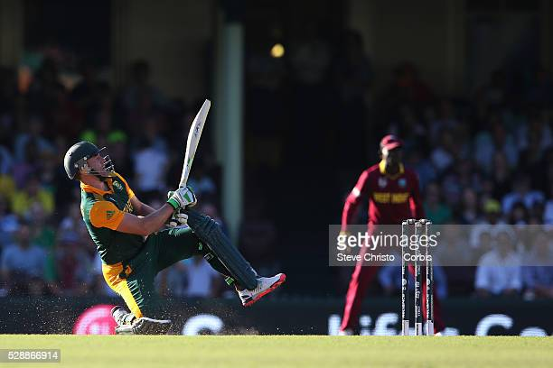 outh Africa's captain AB De Villiers hits 162 runs off 62 balls against the West Indies as South Africa make 408 at the Sydney Cricket Ground Sydney...