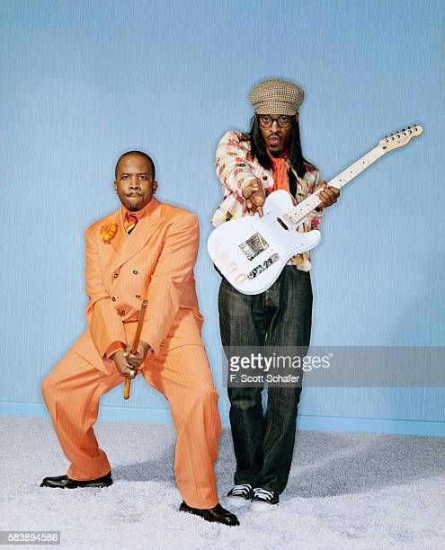 Outkast are photographed for Blender Magazine in 2004