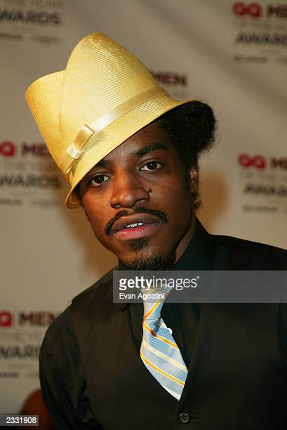 Outkast arriving at the 2002 GQ Men of The Year Awards The event was held at the Hammerstein Ballroom in New York City October 16 2002 Photo by Evan...