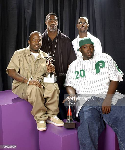 Big Boi LBone Nate and Killa Mike during The 2nd Annual BET Awards Gallery at The Kodak Theater in Hollywood California United States