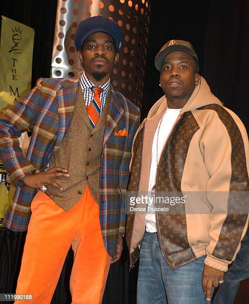 OutKast during 2003 Billboard Music Awards Backstage Creations Gift Retreat Day 2 at MGM Grand Hotel And Casino Resort in Las Vegas Nevada