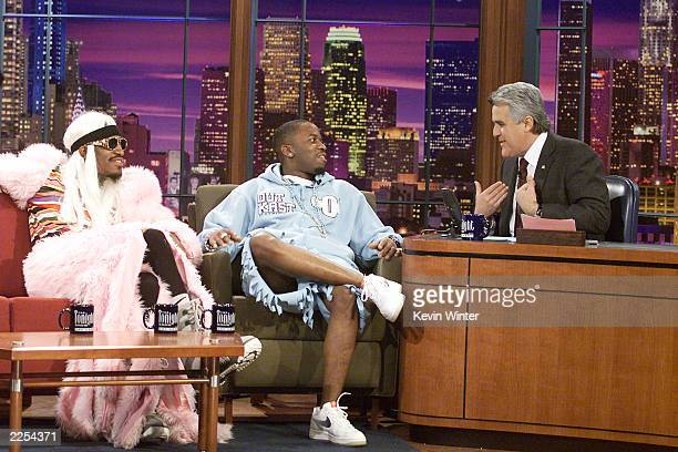 Outkast on 'The Tonight Show with Jay Leno' at the NBC Studios in Los Angeles Ca Wednesday Jan 30 2002 Photo by Kevin Winter/Getty Images