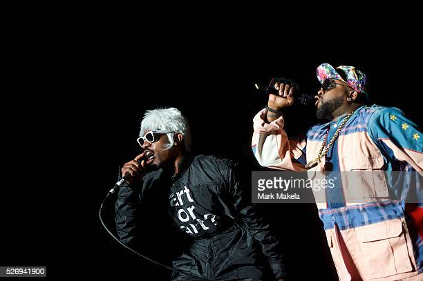 Outkast performs during the Governors Ball Music Festival on Randall's Island in New York NY on June 6 2014