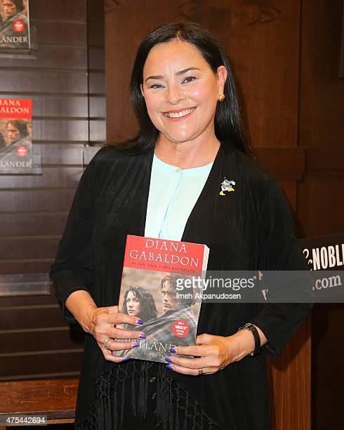 'Outlander' author Diana Gabaldon makes a special Barnes Noble instore appearance at The Grove on May 31 2015 in Los Angeles California