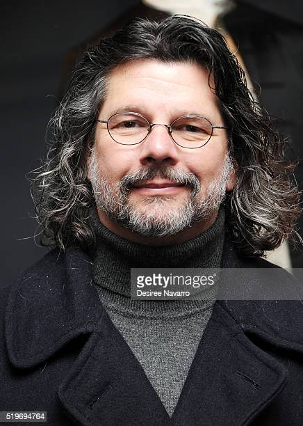 Outlander' Executive Producer Ronald D. Moore attends Saks Fifth Avenue 'Outlander' Window Display Unveiling at Saks Fifth Avenue on April 7, 2016 in...
