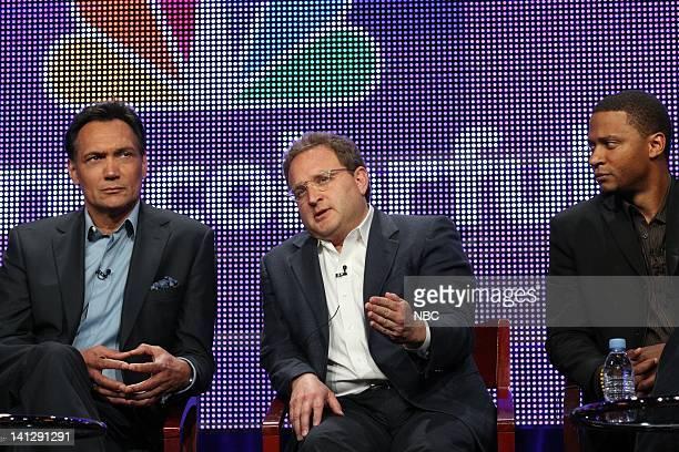 Jimmy Smits Star/Executive Producer David Kissinger Executive Producer David Ramsey Photo by Chris Haston/NBCU Photo Bank