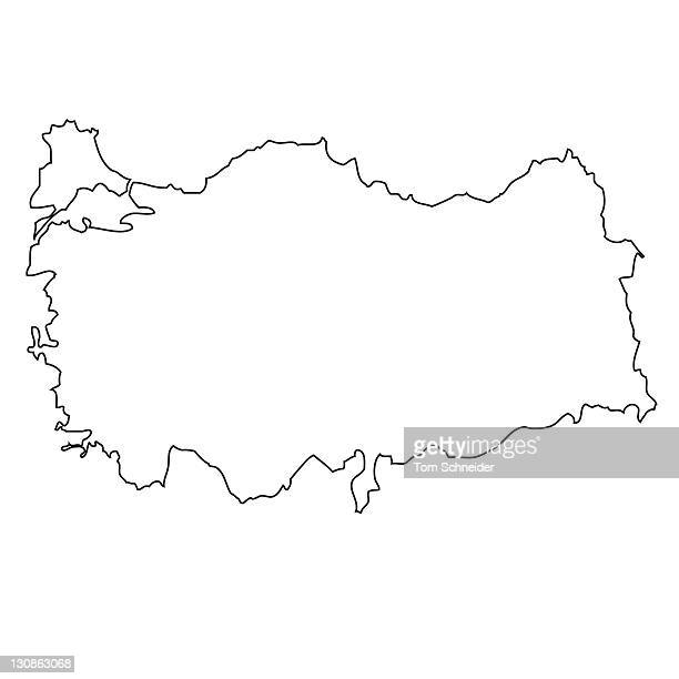 53 Outline Map Of Middle East Photos And Premium High Res Pictures Getty Images