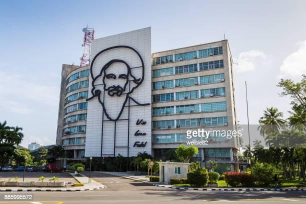 Outline of Camilo Cienfuegos in Havana