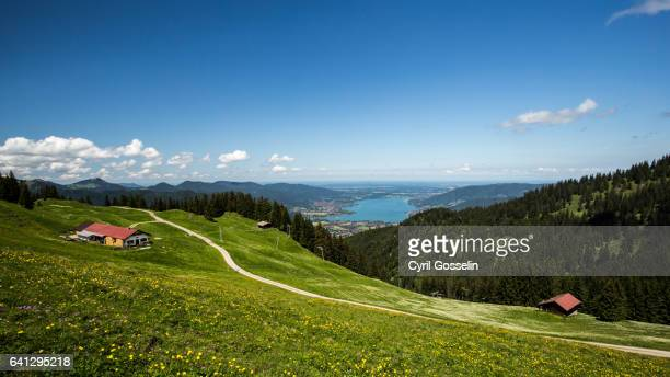 Outlook on the Tegernsee