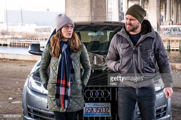 D Outrage Episode 612 Pictured Marina Squerciati as Kim Burgess Patrick John Flueger as Adam Ruzek