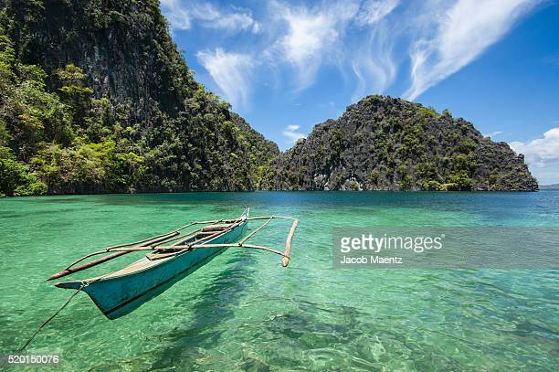 Outrigger boat on Coron Island