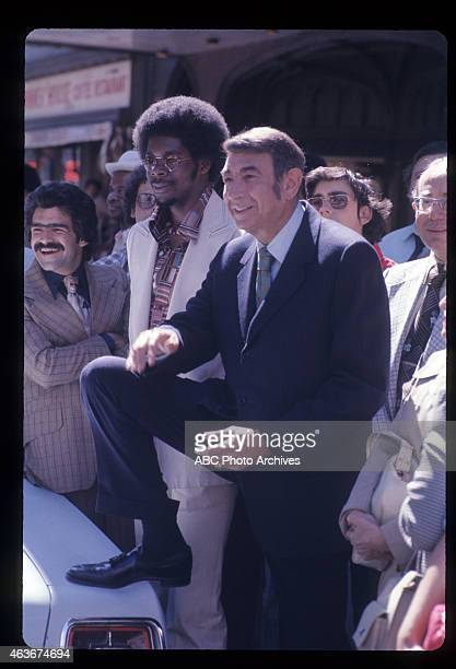 COSELL Outside Ed Sullivan Theater At Show Premiere Airdate September 20 1975 HOWARD