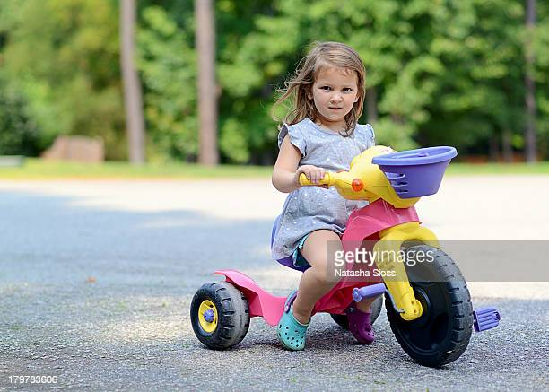 outside fun - tricycle stock pictures, royalty-free photos & images