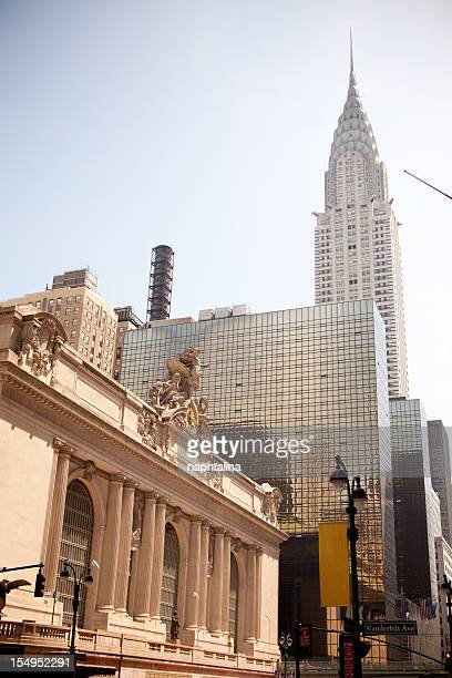 Outside of Grand Central Station