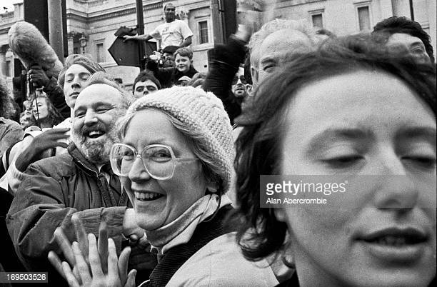 """Outside South Africa House, Trafalgar Square. <a href=""""http://www.alanabercrombieimages.co.uk"""">www.alanabercrombieimages.co.uk</a>"""