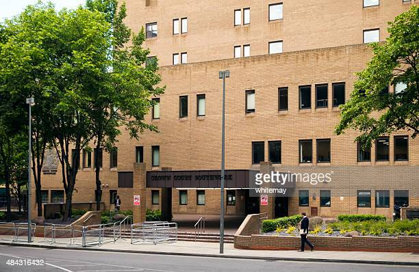 outside southwark crown court - southwark stock pictures, royalty-free photos & images