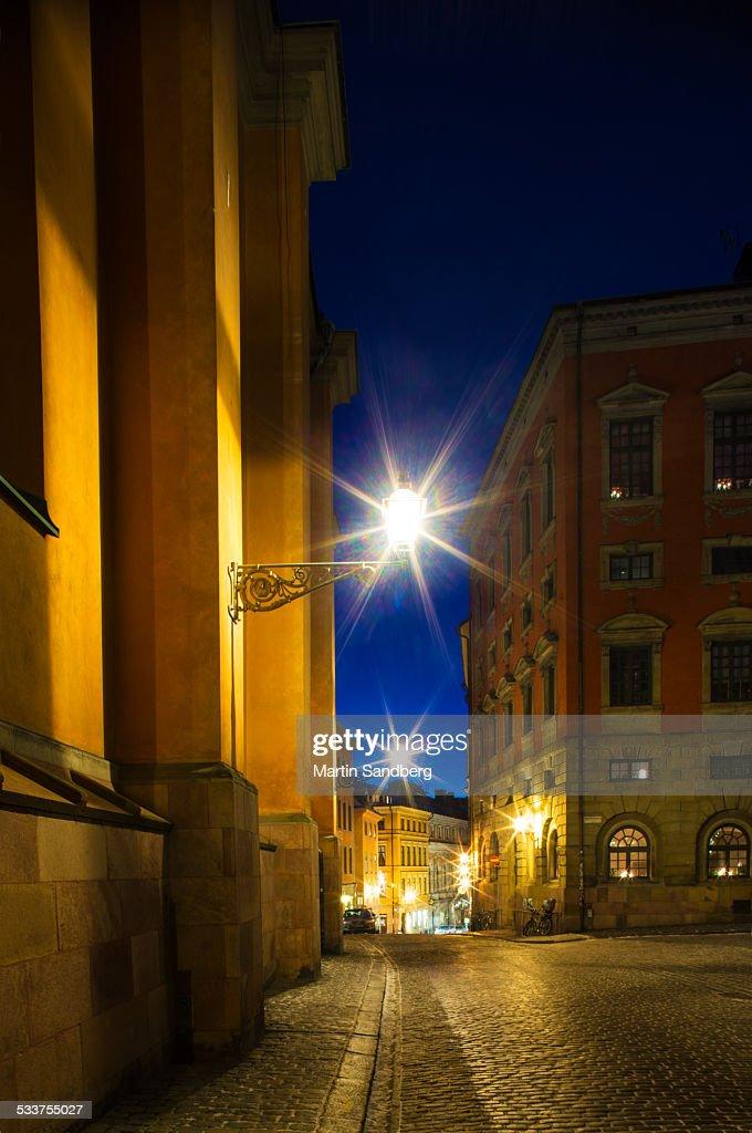 Outside Storkyrkan : Foto stock