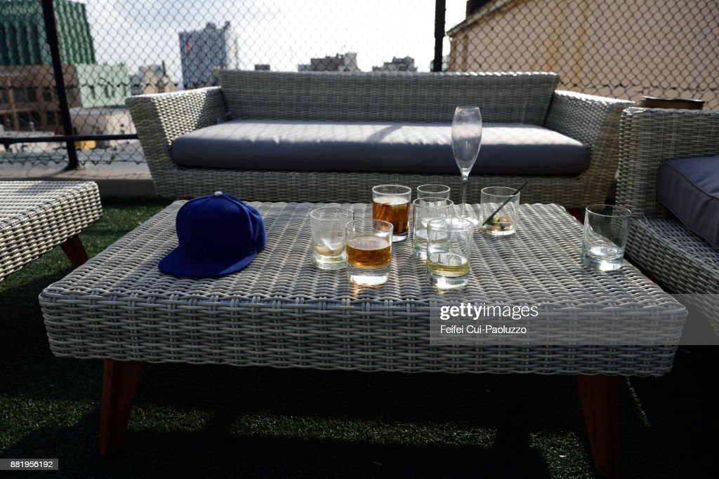 Outside table and chair : Stock Photo