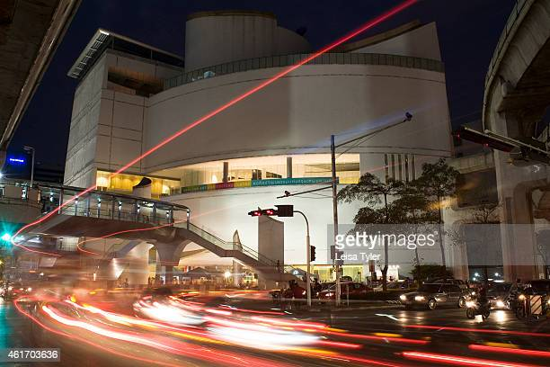 Outside the Bangkok Art and Cultural Centre Eleven years in the making the first section of the BACC finally swung open its doors in July 2008 with...