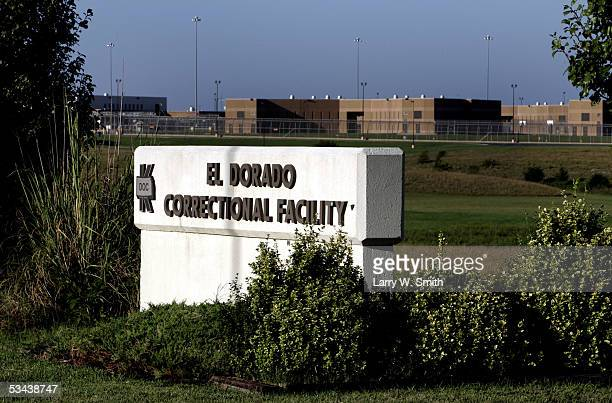 Outside the El Dorado Correctional Facility were Dennis L Rader the man admitting to be the BTK serial killer on August 19 2005 in El Dorado Kansas...
