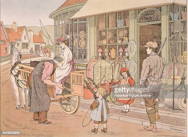 Outside the Garden Shop by Francis Donkin Bedford