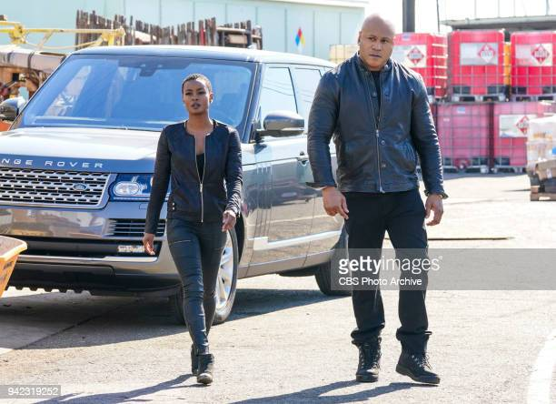 'Outside the Lines' Pictured Andrea Bordeaux and LL COOL J After a cryptocurrency farm is robbed of over $10 million in Bitcoin codes Sam and Hidoko...