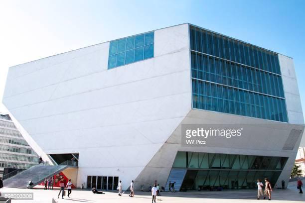 Outside view of Casa da Musica