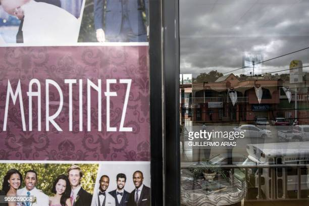 Outside view of Martinez Tuxedos where Thomas Markle the father of Meghan Markle admitted to set up staged photos with a paparazzi in Rosarito Baja...