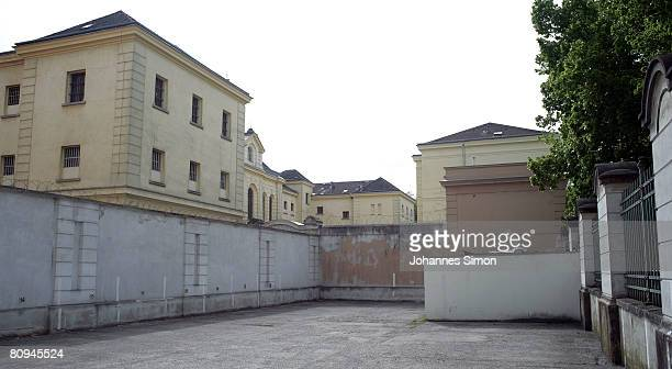 Outside view of Sankt Poelten jailhouse where Josef Fritzl accused of 24 yearlong capture and incestuous abuse of his daughter is imprisoned seen on...