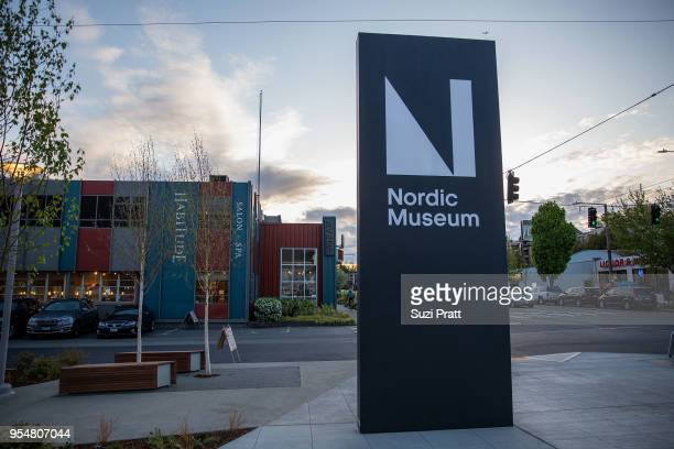 Outside view of the Nordic Museum on May 4 2018 in Seattle Washington