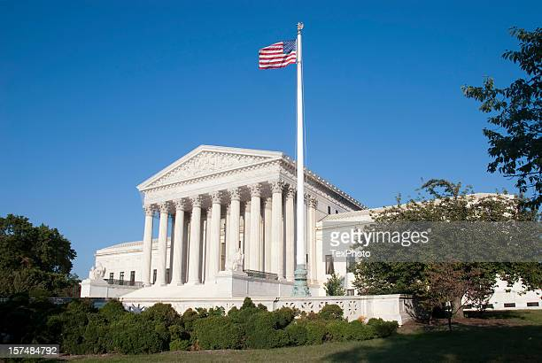 Outside view of the United States Supreme Court