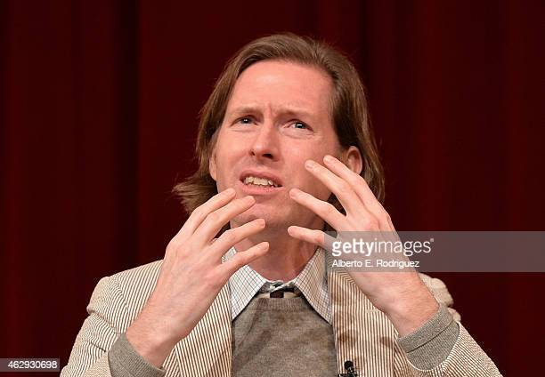 Outstanding Directorial Achievement in Feature Film nominee Wes Anderson speaks onstage during the 67th Annual Directors Guild Of America Awards...