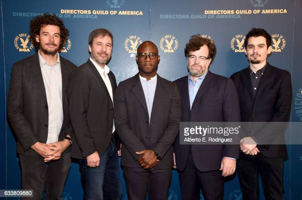 Outstanding Directorial Achievement in Feature Film nominees Garth Davis Denis Villeneuve Barry Jenkins Kenneth Lonergan and Damien Chazelle attend...