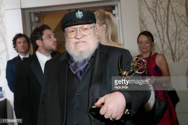 Outstanding Drama Series Winner George R. R. Martin attends IMDb LIVE After the Emmys Presented by CBS All Access on September 22, 2019 in Los...