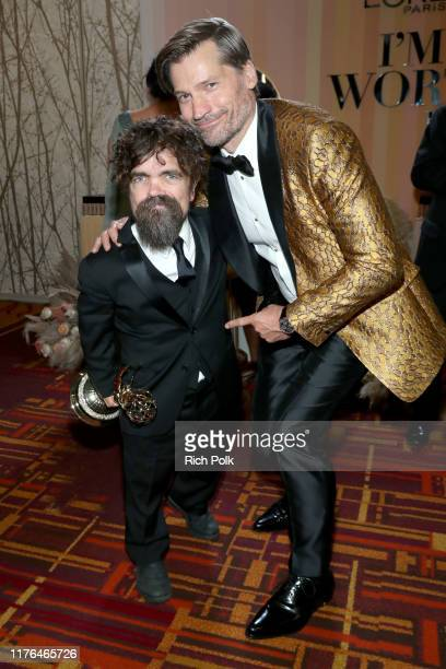Outstanding Drama Series Winners and Peter Dinklage and Nikolaj Coster-Waldau attend IMDb LIVE After the Emmys Presented by CBS All Access on...
