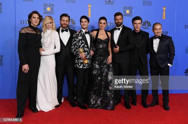 Outstanding Limited Series award for 'The Assassination of Gianni Versace American Crime Story' winners Cody Fern Judith Light Edgar Ramirez Darren...