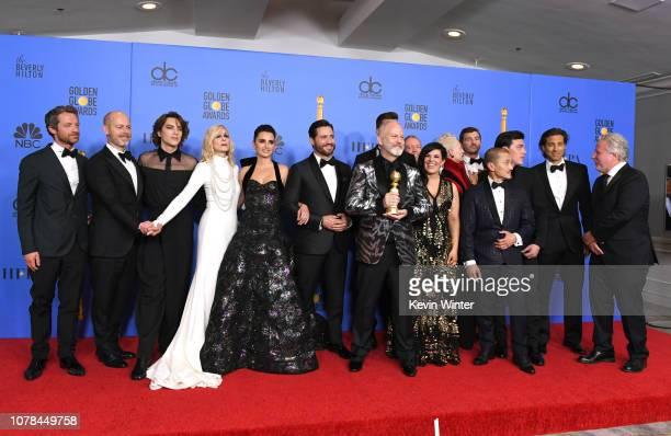 Outstanding Limited Series award for 'The Assassination of Gianni Versace American Crime Story' winners Cody Fern Judith Light Penelope Cruz Edgar...