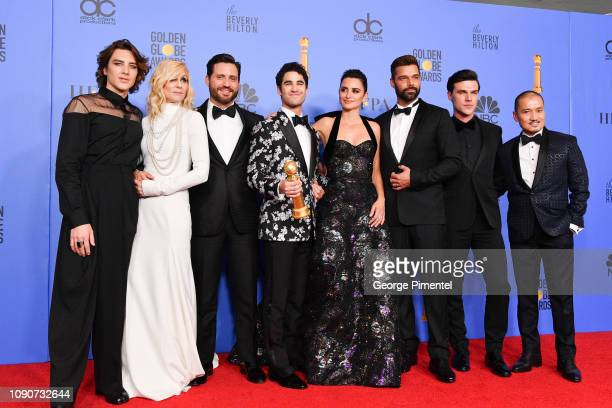 Outstanding Limited Series award for 'The Assassination of Gianni Versace American Crime Story' winners Cody Fern Judith Light Edgar Ramirez Darren...