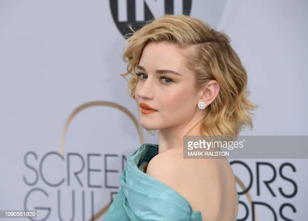 Outstanding Performance by a Female Actor in a Drama Series for 'Ozark' nominee Julia Garner arrives for the 25th Annual Screen Actors Guild Awards...