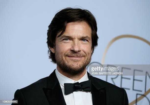 Outstanding Performance by a Male Actor in a Drama Series for 'Ozark' winner Jason Bateman poses in the press room during the 25th Annual Screen...