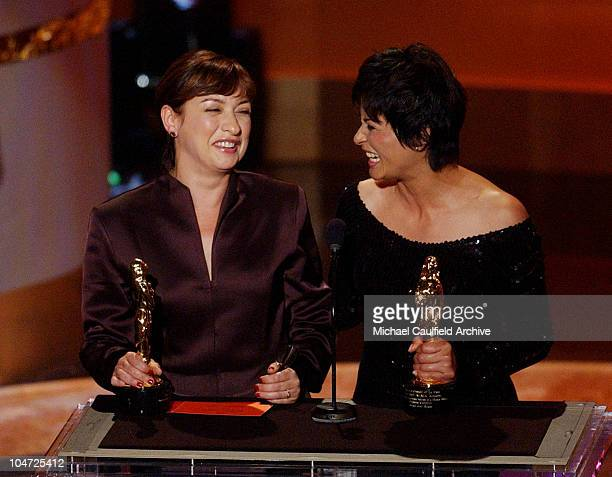 Outstanding Supporting Actress winner Elizabeth Pena tied with Elpidia Carrillo