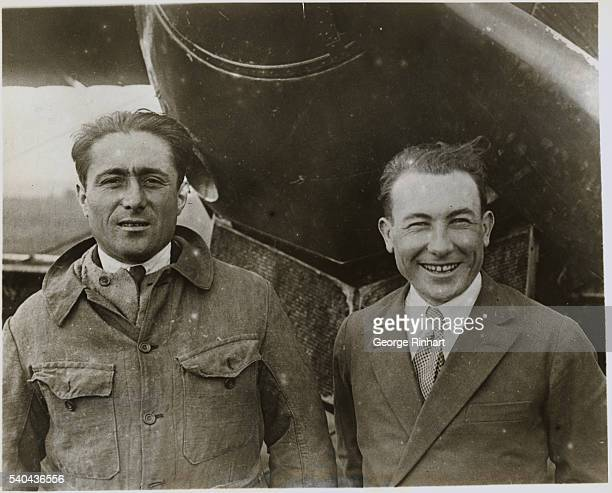 Outstanding World Events of 1927 Lieutenant Joseph La Brix and Dieudonne Coste French aviators make first nonstop airplane crossing of the South...