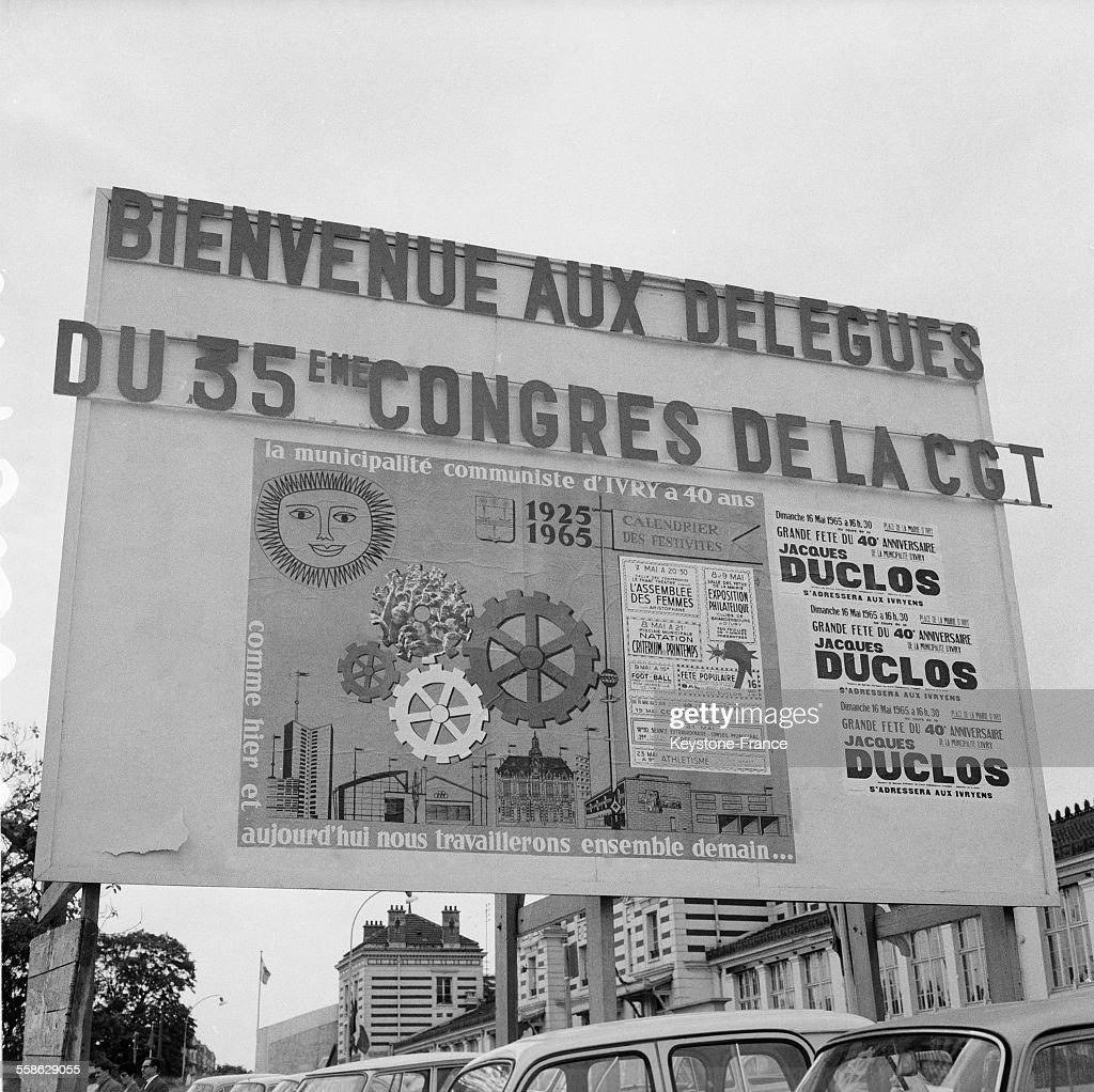 2fc41e1df75 Ouverture du XXXVème Congres de la CGT