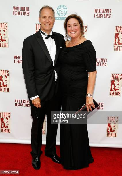 Ovation CEO Charles Segars and Alice Segars attend the 2017 Ford's Theatre Gala sponsored in part by Ovation at Ford's Theatre on June 4 2017 in...