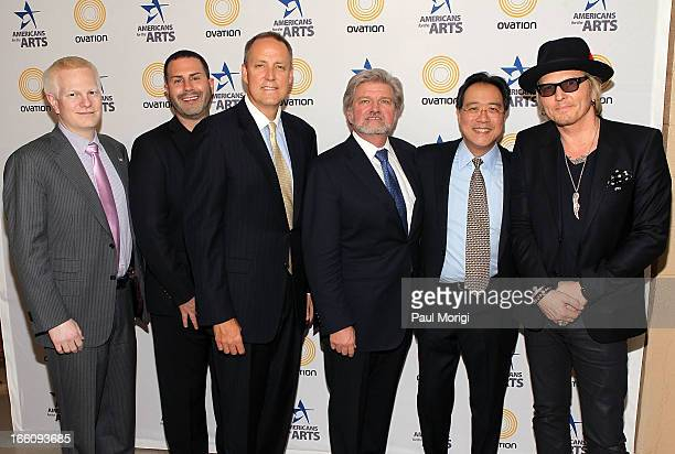 Ovation COO Chad Gutstein Ovation Chief Creative Officer Rob Weiss Ovation CEO Charles Segars AFTA President and CEO Robert Lynch acclaimed artist...
