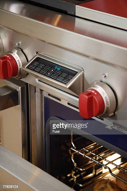Oven Knobs and Touchpad