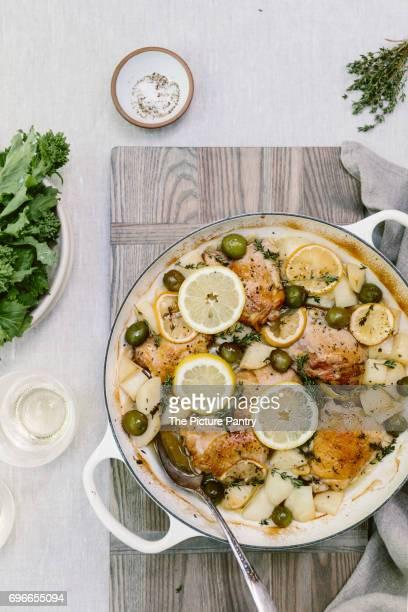Oven-Baked Mediterrenean Chicken Thighs