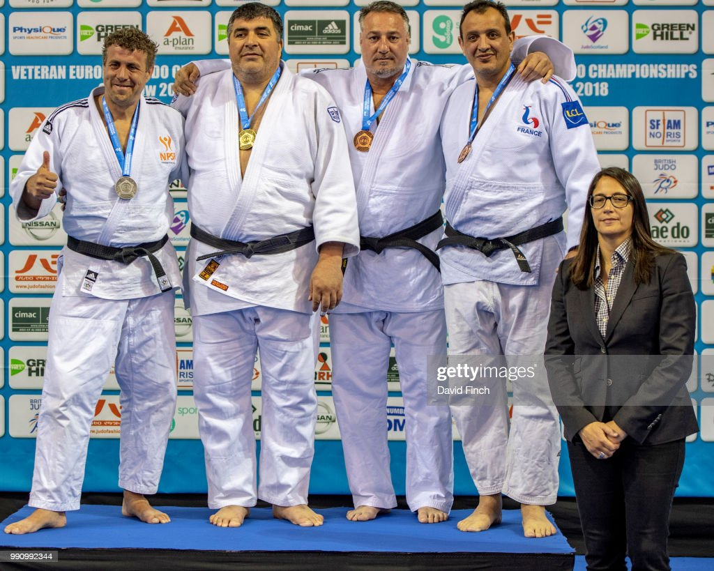 2018 Glasgow Veteran European Judo Championships (14-17 June) : News Photo