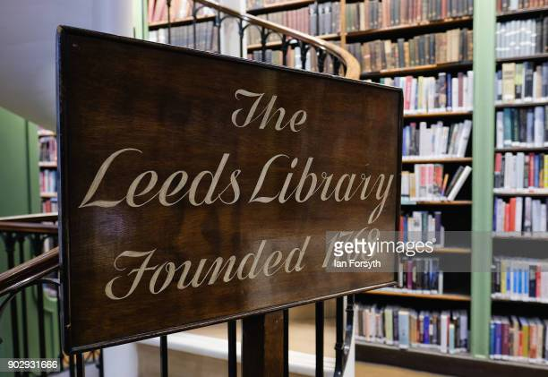 Over 140000 books are available to members inside the Leeds Library on January 9 2018 in Leeds England This year sees the 250th anniversary of the...