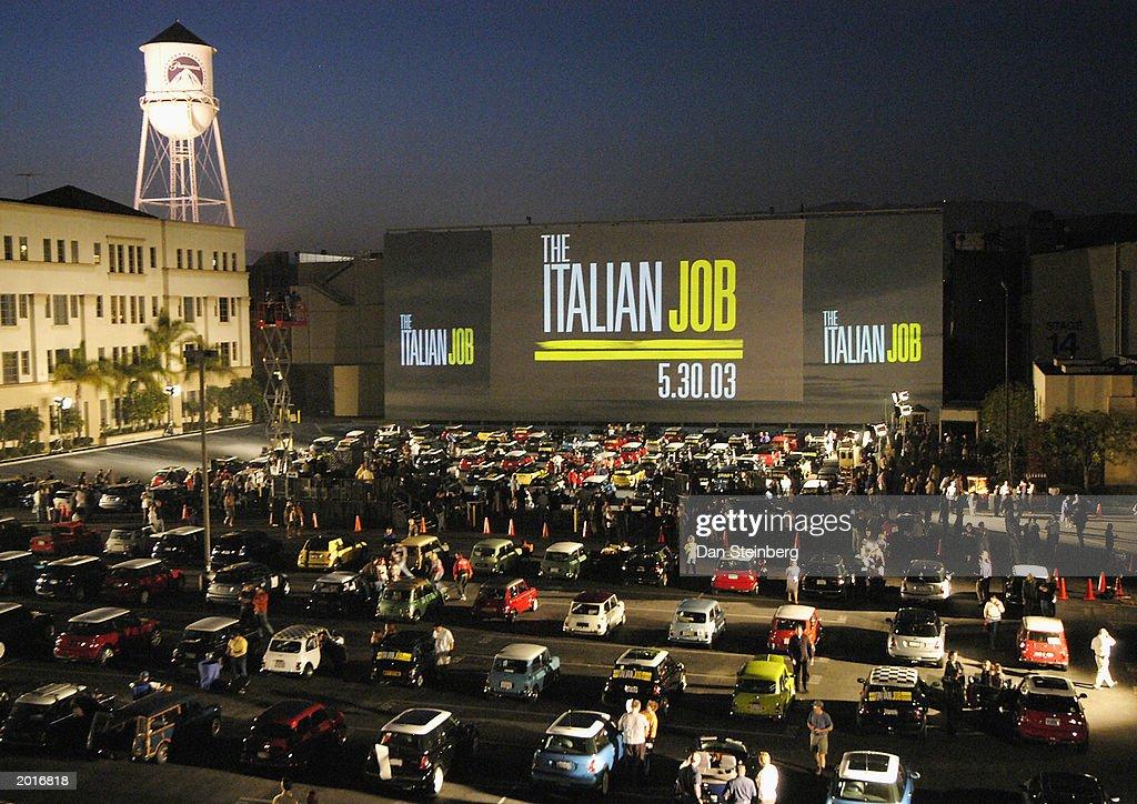 """Los Angeles Mini-Premiere Of """"The Italian Job"""" : Fotografía de noticias"""